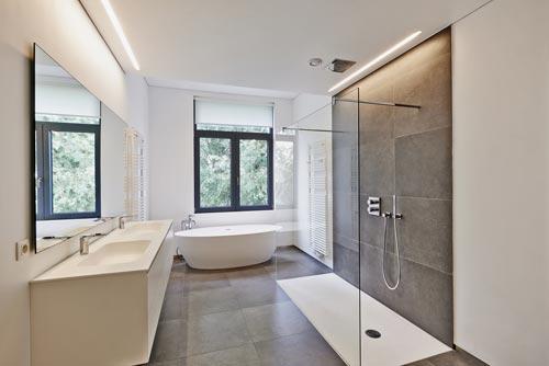 bad freistehende wanne | badezimmer & wohnzimmer
